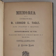 Libri antichi: ANDEAN TRAGEDY: FIGHTING THE WAR OF THE PACIFIC, 1879-1884. PERÚ.. Lote 235090330