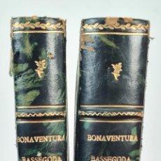 Libros antiguos: SANTA MARIA DE LA MAR. BONAVENTURA BASSEGODA Y AMIGÓ. GRAF. J. THOMAS. 2 VOL. 1925.. Lote 217313126