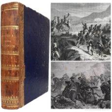 Libros antiguos: 1863 - HISTORIA GENERAL DE ESPAÑA Y DE SUS INDIAS - DINASTÍA BORBÓNICA - ILUSTRADO - LÁMINAS. Lote 218482486
