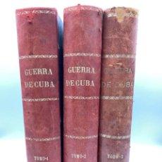 Libros antiguos: ANALES DE LA GUERRA DE CUBA. ANTONIO PIRALA. FELIPE GONZALEZ ROJAS EDITOR. MADRID, 1895-98. Lote 219479175