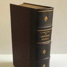 Libros antiguos: AMBROSIO SPÍNOLA. PRIMER MARQUES DE LOS BALBASES. ENSAYO BIOGRÁFICO. - RODRÍGUEZ VILLA, ANTONIO.. Lote 220373748
