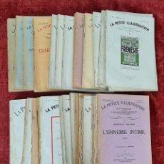 Libros antiguos: COLECCIÓN DE 67 NÚMEROS DE LA PETITE ILUSTRATION. EDIT. L'ILUSTRATION. AÑOS 30.. Lote 221536281