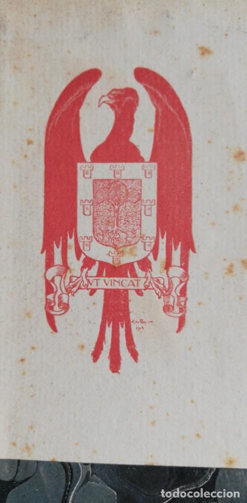Libros antiguos: CRONICA DEL REY EN PERE. Con exlibris de Alexandre de Riquer 1909. - Foto 2 - 222002275
