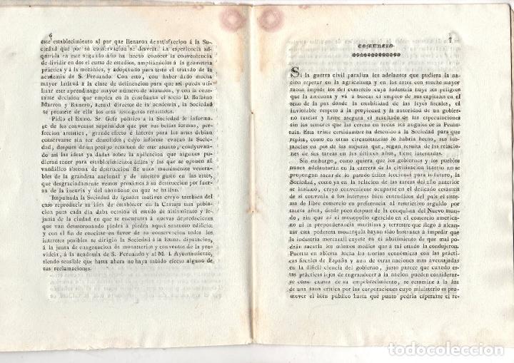Libros antiguos: TAREAS DE LA SOCIEDAD ECONOMICA DE AMIGOS DEL PAIS DE JEREZ DE LA FRONTERA. 1838 - Foto 2 - 222035861