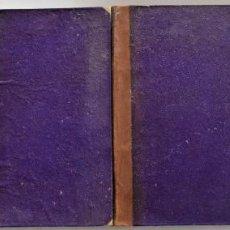 Livros antigos: HISTORIA DE LOS GIRONDINOS - M.A. DE LAMARTINE - 4 TOMOS COMPLETA - IMPRESA EN MADRID AÑO 1847. Lote 223530638