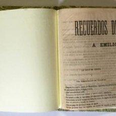 Libros antiguos: RECUERDOS DE ROQUE BÁRCIA Á EMILIO CASTELAR. - BÁRCIA, ROQUE.. Lote 123161448