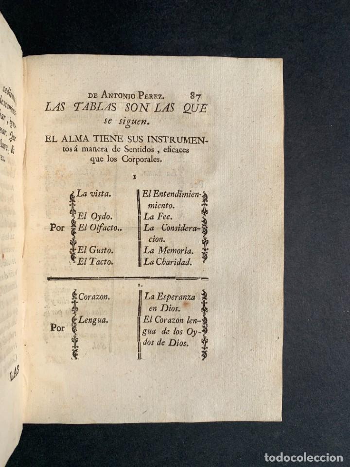 Libros antiguos: 1787 - Aforismos de las relaciones de Antonio Pérez - Politica - Felipe II- Historia de España - Foto 11 - 223999118