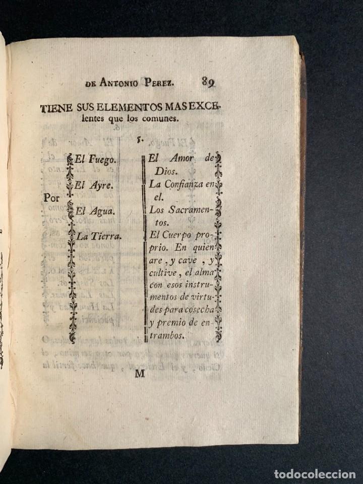 Libros antiguos: 1787 - Aforismos de las relaciones de Antonio Pérez - Politica - Felipe II- Historia de España - Foto 12 - 223999118