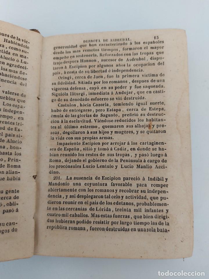 Libros antiguos: ANTIGUO LIBRO - COMPENDIO DE LA HISTORIA DE ESPAÑA - HASTA CARLOS III - 408 PAGINAS - AL FALTAR LA P - Foto 2 - 224324283