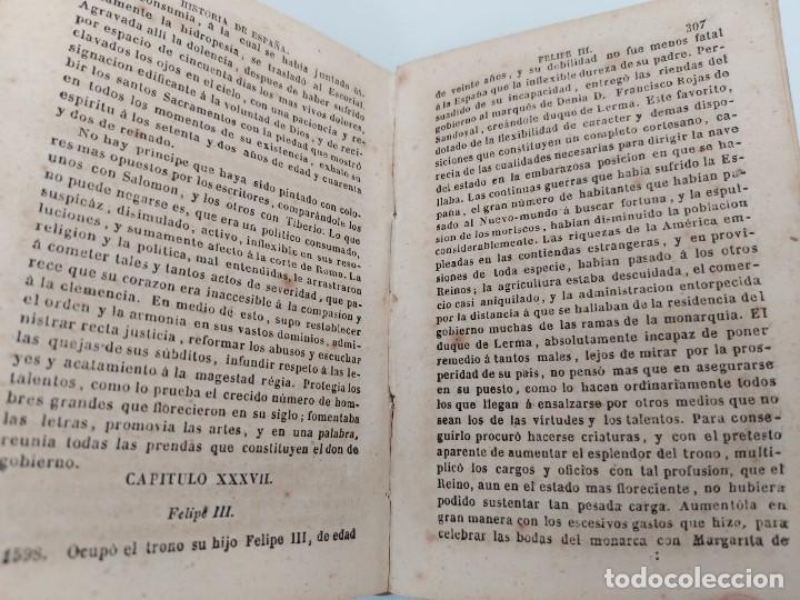 Libros antiguos: ANTIGUO LIBRO - COMPENDIO DE LA HISTORIA DE ESPAÑA - HASTA CARLOS III - 408 PAGINAS - AL FALTAR LA P - Foto 3 - 224324283