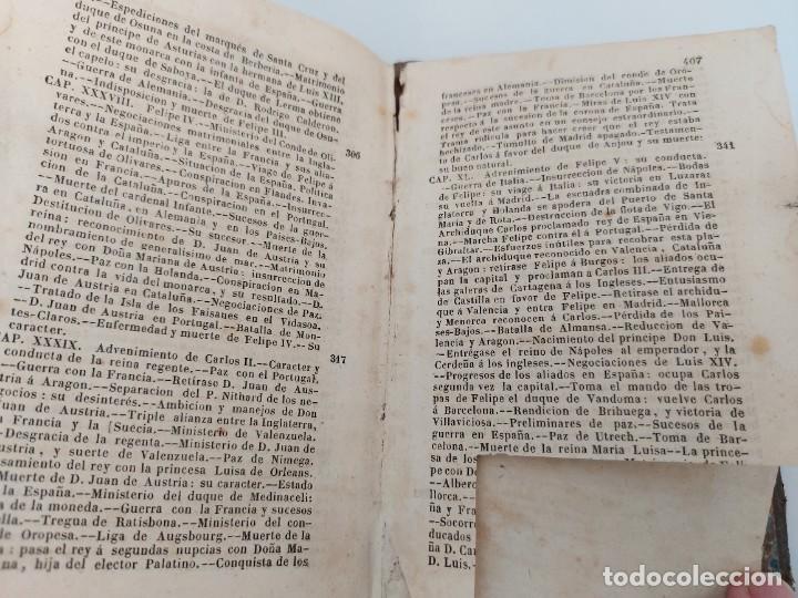 Libros antiguos: ANTIGUO LIBRO - COMPENDIO DE LA HISTORIA DE ESPAÑA - HASTA CARLOS III - 408 PAGINAS - AL FALTAR LA P - Foto 4 - 224324283