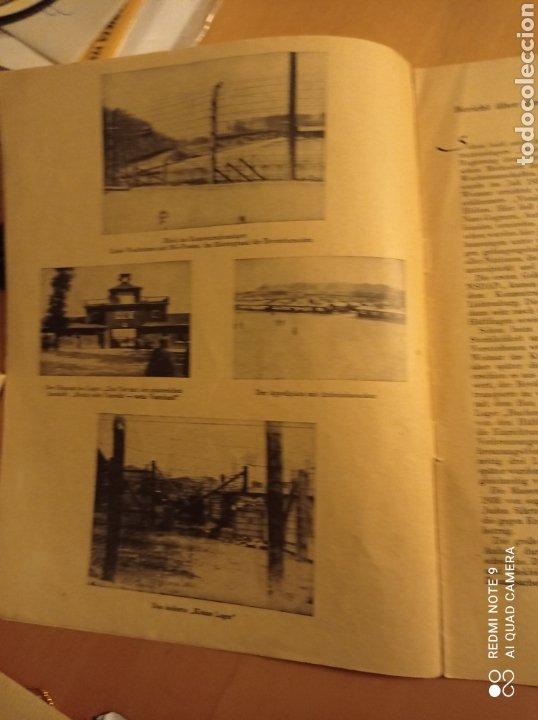 Libros antiguos: Buchenwald campo concentración Alemania nazi tercer reich holocausto - Foto 3 - 226623425