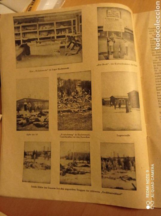 Libros antiguos: Buchenwald campo concentración Alemania nazi tercer reich holocausto - Foto 4 - 226623425