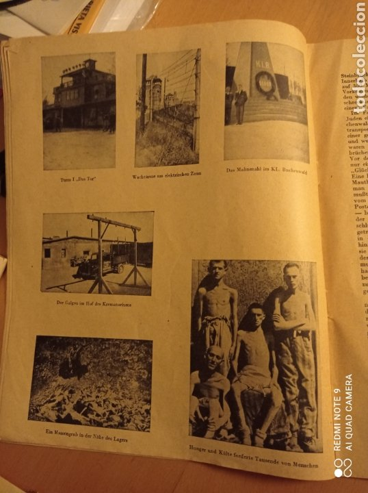 Libros antiguos: Buchenwald campo concentración Alemania nazi tercer reich holocausto - Foto 5 - 226623425