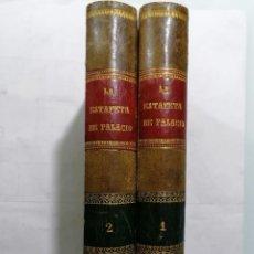 Libros antiguos: LA ESTAFETA DE PALACIO, CARTAS TRANSCENDENTALES POR ILDEFONSO ANTONIO BERMEJO, 2 TOMOS - AÑO 1871. Lote 227753820