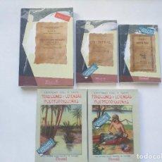 Libros antiguos: 5 LIBROS FACSÍMILES RELATIVOS A PUERTO RICO. HISTORIA DE FOLCLORE TRADICIONES Y LEYENDAS SAN JUAN. Lote 261907550