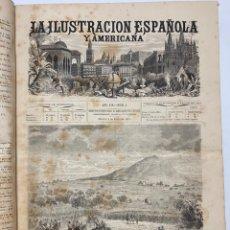 Libri antichi: OBRA MAGNA LA ILUSTRACIÓN ESPAÑOLA Y AMERICANA AÑO 1875 COMPLETO. Lote 233499345
