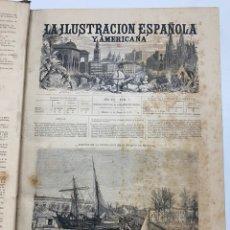 Libri antichi: OBRA MAGNA LA ILUSTRACIÓN ESPAÑOLA Y AMERICANA AÑO 1877 COMPLETO.. Lote 233501595
