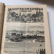 Libri antichi: OBRA MAGNA LA ILUSTRACIÓN ESPAÑOLA Y AMERICANA AÑO 1878 COMPLETO.. Lote 233502000