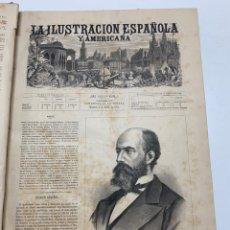 Libri antichi: OBRA MAGNA LA ILUSTRACIÓN ESPAÑOLA Y AMERICANA AÑO 1879 COMPLETO.. Lote 233502495