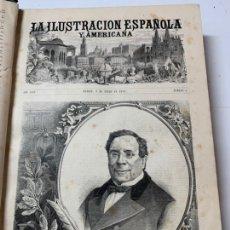 Libri antichi: OBRA MAGNA LA ILUSTRACIÓN ESPAÑOLA Y AMERICANA AÑO 1880 COMPLETO.. Lote 233503885