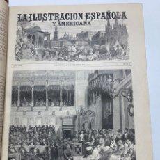 Libri antichi: OBRA MAGNA LA ILUSTRACIÓN ESPAÑOLA Y AMERICANA AÑO 1881 COMPLETO.. Lote 233504035