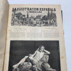 Libri antichi: OBRA MAGNA LA ILUSTRACIÓN ESPAÑOLA Y AMERICANA AÑO 1883 COMPLETO.. Lote 233505500