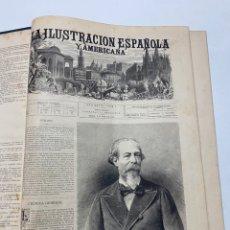 Libri antichi: OBRA MAGNA LA ILUSTRACIÓN ESPAÑOLA Y AMERICANA AÑO 1884 COMPLETO.. Lote 233506555