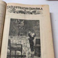 Libri antichi: OBRA MAGNA LA ILUSTRACIÓN ESPAÑOLA Y AMERICANA AÑO 1885.COMPLETO.. Lote 233508075