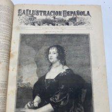 Libri antichi: OBRA MAGNA LA ILUSTRACIÓN ESPAÑOLA Y AMERICANA AÑO 1888 COMPLETO.. Lote 233509430