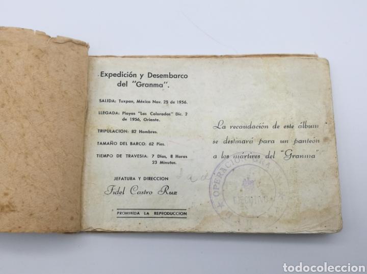 Libros antiguos: Álbum mártires expedición y desembarco del barco Granma Revolucion Cubana Cuba - Foto 2 - 235305180