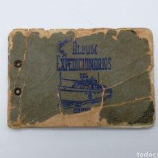 Libros antiguos: ÁLBUM MÁRTIRES EXPEDICIÓN Y DESEMBARCO DEL BARCO GRANMA REVOLUCION CUBANA CUBA. Lote 235305180