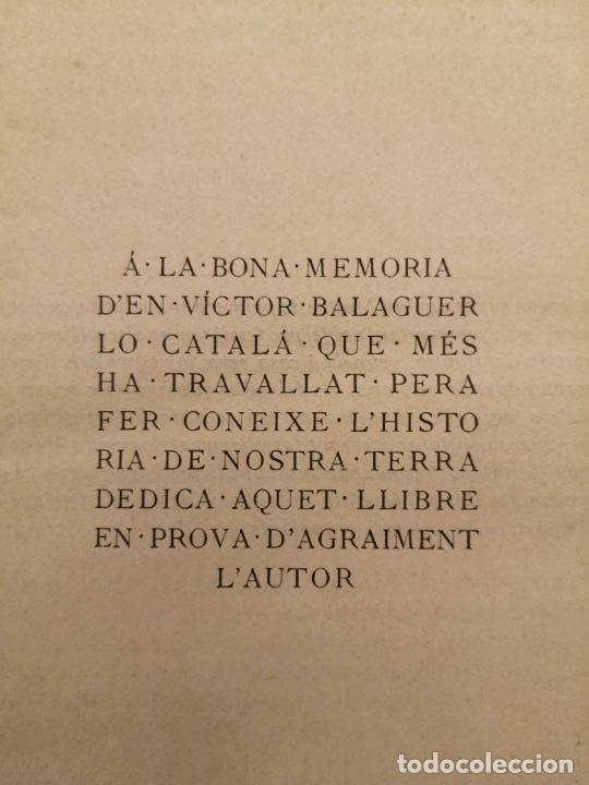 Libros antiguos: HISTORIA CATALUNYA, JOAN OLIVA Y MILA 1901, (VILANOVA Y GELTRU) - Foto 3 - 235314360
