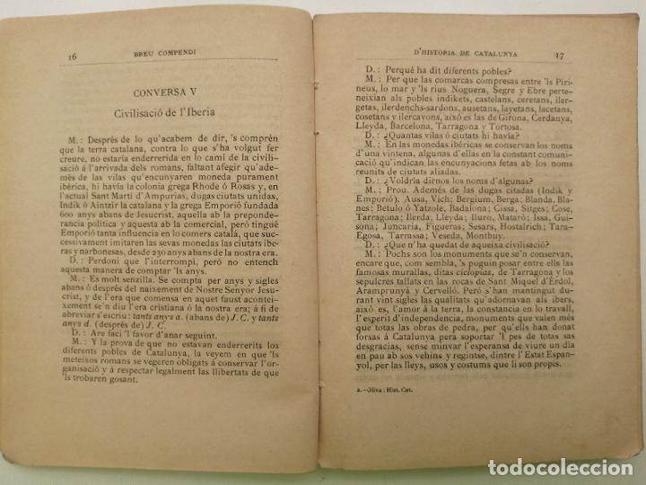 Libros antiguos: HISTORIA CATALUNYA, JOAN OLIVA Y MILA 1901, (VILANOVA Y GELTRU) - Foto 5 - 235314360