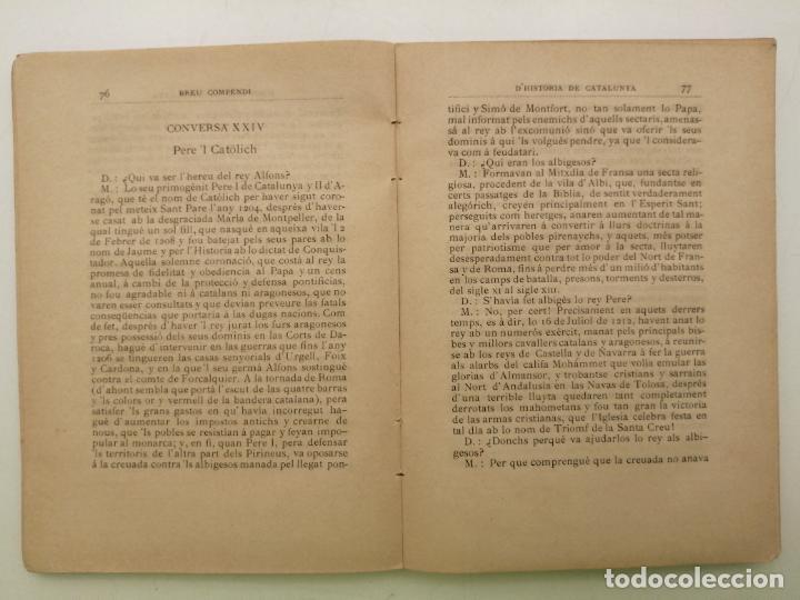Libros antiguos: HISTORIA CATALUNYA, JOAN OLIVA Y MILA 1901, (VILANOVA Y GELTRU) - Foto 7 - 235314360
