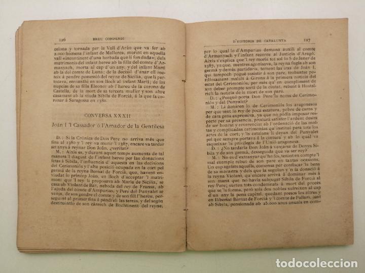 Libros antiguos: HISTORIA CATALUNYA, JOAN OLIVA Y MILA 1901, (VILANOVA Y GELTRU) - Foto 8 - 235314360