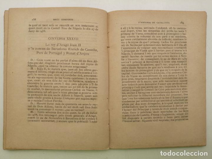 Libros antiguos: HISTORIA CATALUNYA, JOAN OLIVA Y MILA 1901, (VILANOVA Y GELTRU) - Foto 9 - 235314360
