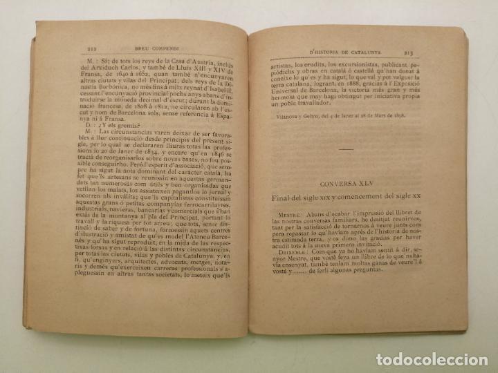 Libros antiguos: HISTORIA CATALUNYA, JOAN OLIVA Y MILA 1901, (VILANOVA Y GELTRU) - Foto 10 - 235314360
