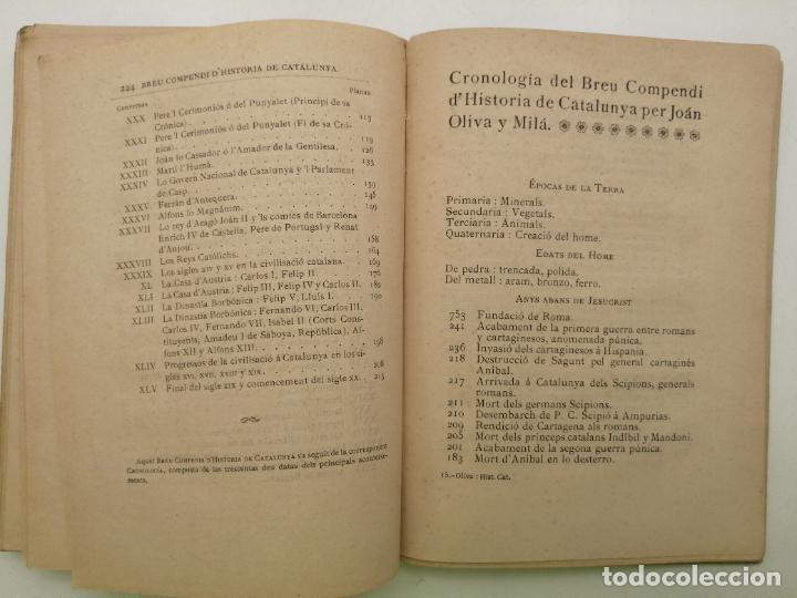Libros antiguos: HISTORIA CATALUNYA, JOAN OLIVA Y MILA 1901, (VILANOVA Y GELTRU) - Foto 11 - 235314360