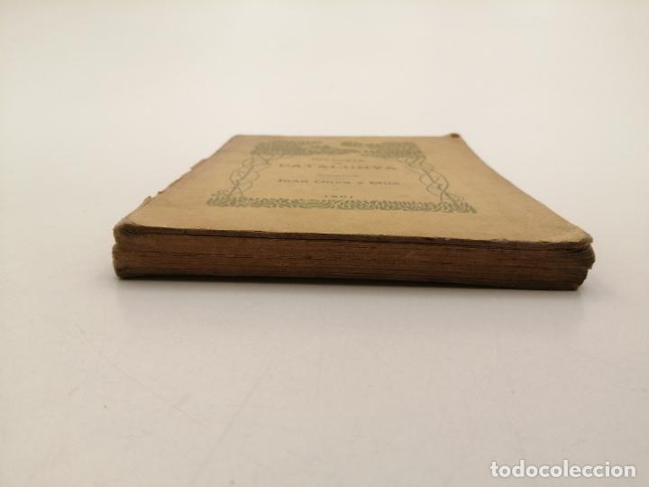 Libros antiguos: HISTORIA CATALUNYA, JOAN OLIVA Y MILA 1901, (VILANOVA Y GELTRU) - Foto 14 - 235314360