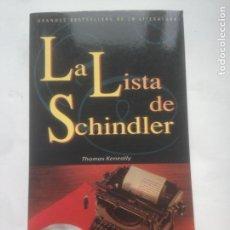 Libros antiguos: LA LISTA DE SCHINDLER, THOMAS KENEALLY - GRUPO CORREO, TAPA BLANDA. Lote 235804080