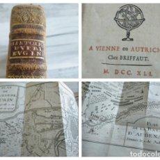 Livros antigos: HISTORIA PRINCIPE DE SABOYA - GUERRA SUCESIÓN ESPAÑOLA, BATALLAS DE TURÍN (1706) Y OUDENARDE (1708). Lote 236945985