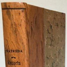 Libros antiguos: RECORTS DE LA DARRERA CARLINADA. - VAYREDA, MARIÀ.. Lote 237086615