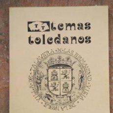 Libros antiguos: ROBOS PERSEGUIDOS POR LA HERMANDAD DE TALAVERA - TEMAS TOLEDANOS - NUM. 7 - IPIET. TOLEDO.. Lote 241521555