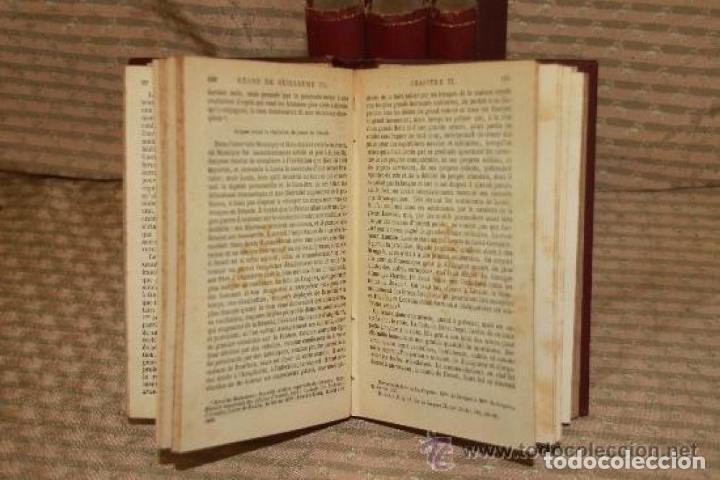 Libros antiguos: HISTOIRE DU REGNE DE GUILLAUME III. MACAULAY. EDIT CHARPENTIER. 1857 4 VOL. - Foto 3 - 245898860