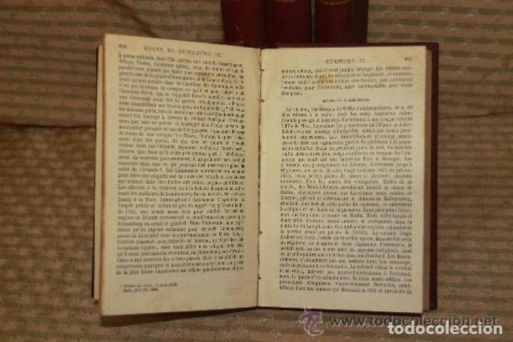 Libros antiguos: HISTOIRE DU REGNE DE GUILLAUME III. MACAULAY. EDIT CHARPENTIER. 1857 4 VOL. - Foto 4 - 245898860
