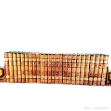 Libros antiguos: HISTORIA GENERAL DE ESPAÑA. D. MODESTO LAFUENTE. 25 TOMOS. COMPLETA. 1887-1890. PERFECTO ESTADO.. Lote 246045015