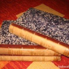 Libros antiguos: HISTOIRE DE LA REVOLUTION FRANÇAISE 1865 THIERS 3 TOMOS INCLUYE ATLAS PARIS FURNE ET CIE. Lote 246280250