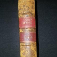 Libros antiguos: EPISODIOS NACIONALES. BENITO PEREZ GALDOS. 1925. GERONA. CADIZ. PIEL. Lote 252362335