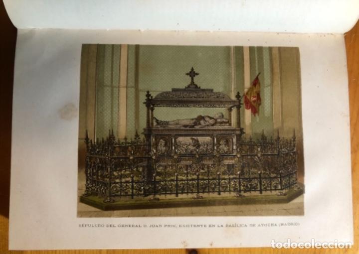 Libros antiguos: HISTORIA DE ESPAÑA- MODESTO LAFUENTE- ISABEL II- AMADEO- PRIM- GUERRAS CARLISTAS- 1890 - Foto 4 - 253263785